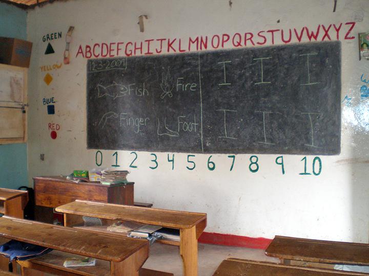 Tazania classroom